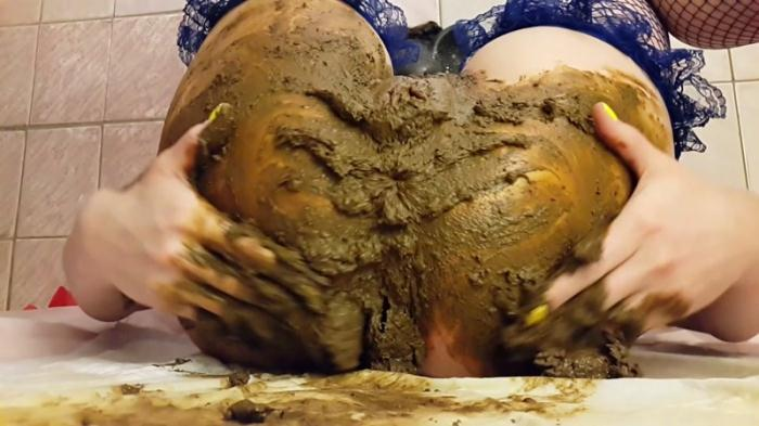 Scat Porn: A little fingering and a lot of shit and smear - Very EXTREME (FullHD/1088p/1.51 GB) 24.07.2016