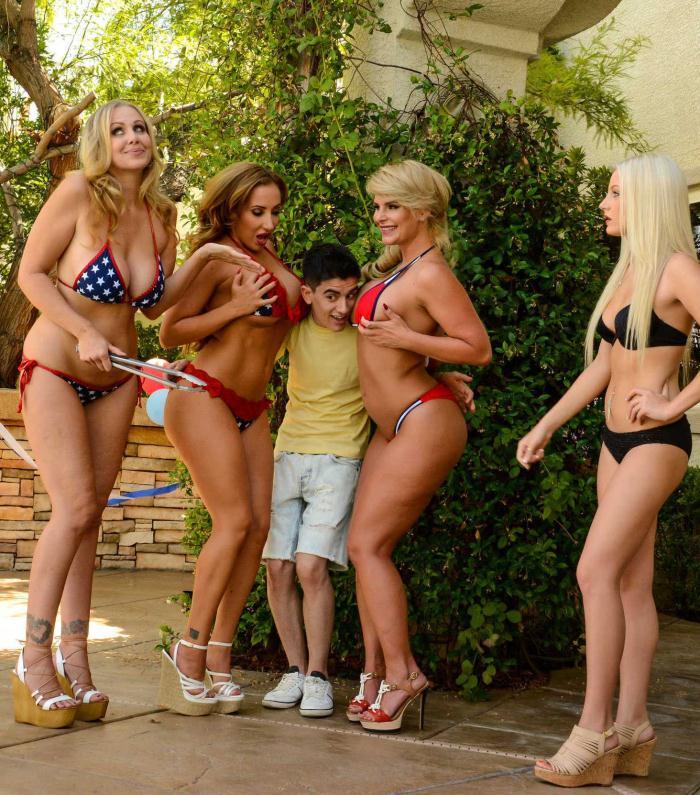 Brazzers - Julia Ann,Phoenix Marie,Richelle Ryan,Jordi El Nino Polla [Cumming To America] (HD 720p)