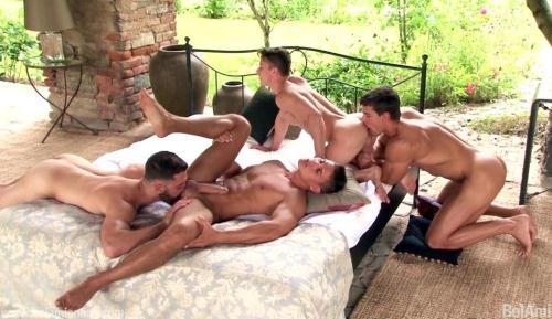 Condom Archive: Kris Evans, Vadim Farrell, Darius Ferdynand, Tommy Defendy [HD, 810p] [BelAmiOnline.com] - Gay