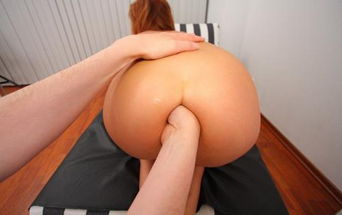 Angelina - My First Anal Lesson (2011/HD)