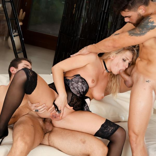 Rocco Porn: Lucy Heart, Nando La Motta, Geri Del Bello - Slutty Girls Love Rocco 12, Scene 3 (SD/2016)