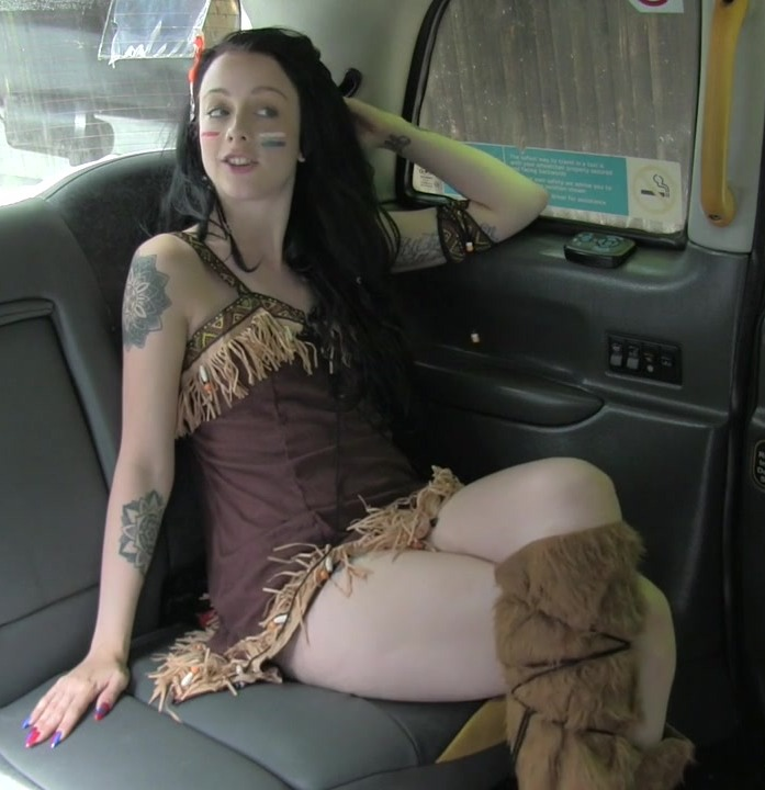 FakeTaxi - Alessa [Costumed Fuck on the 4th of July] (HD 720p)