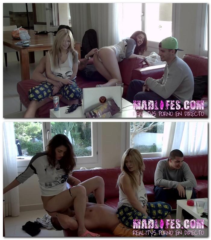 Madli Porn - Penelope Cum, Salva da Silva - Penelope Cum busca a Salva da Silva para que le coma el cono  [HD 720p]