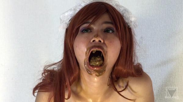 Dirty Scat Swallow Maid - By Top Girl Jureka Del Mar - Solo (FullHD 1080p)