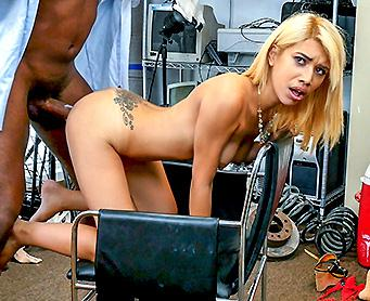 BlackLoads.com [Giselle D. Ambrosia - Spanish Broad Taking This Long Coc] SD, 480p