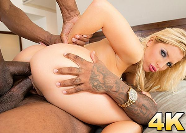 Ashley Fires Gets A Surprise Hard Double Black Penetration with Two Boy (24.07.2016) [JulesJordan / SD]