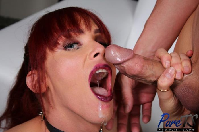 Pure-TS.com - Staci Miguire, Christian - Dominatrix Staci Wants to Be Fucked Hard After a Session [HD 720p]