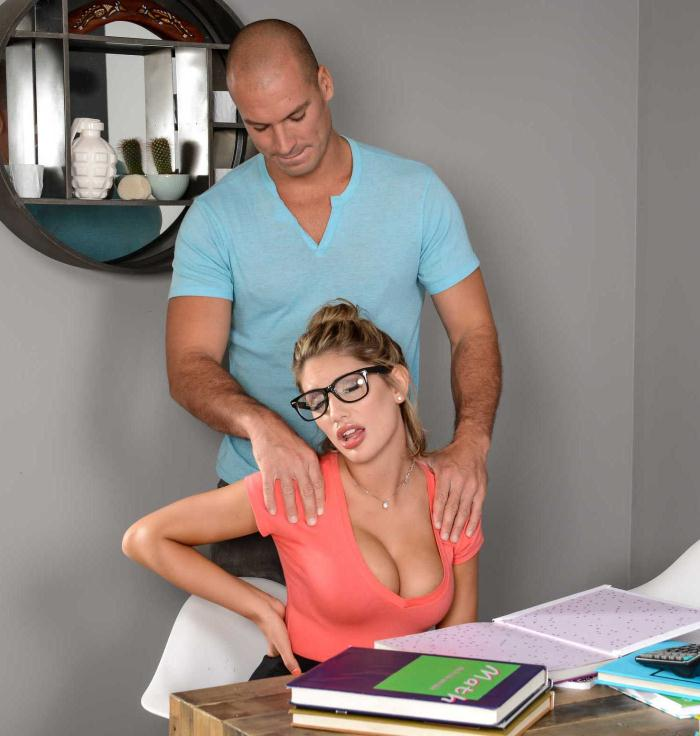 Brazzers: August Ames - Study Buddies  [HD 720p]  (Big Tits)