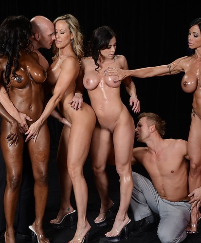 BigButtsLikeItBig, Brazzers: Brandi Love,�Diamond Jackson,�Jewels Jade,�Kendra Lust - Miss Titness America  [SD 480p]  (Orgy Group)