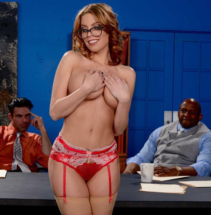PornStarsLikeItBig/Brazzers: Britney Amber - The Interview: Round 3  [SD 480p]  (Big Tits)