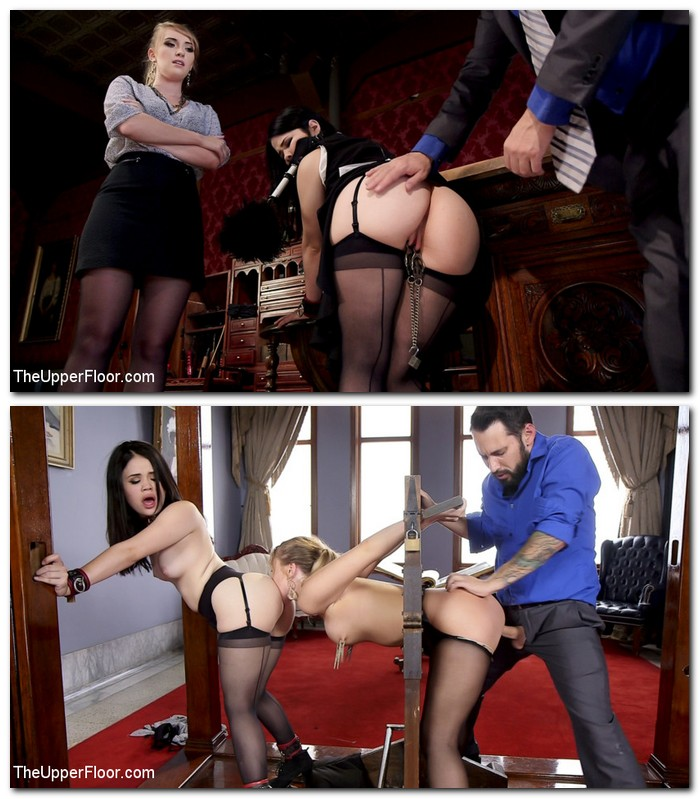 TheupperFloor, Kink: Yhivi, Harley Jade - Serving the House: Babe Realtor Punish Fucked  [SD 540p]  (BDSM)