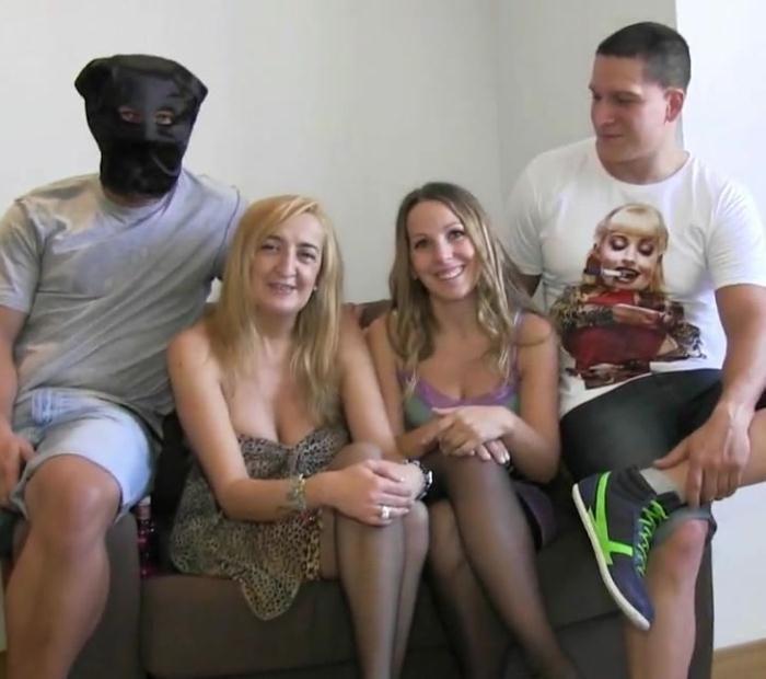 Fakings: Alex Black,Betty la guapa,Bruno y Maria - Quedamos con unos amigos para follar por que somos liberales, no hay mas  [HD 720p]  (Spanish porn)