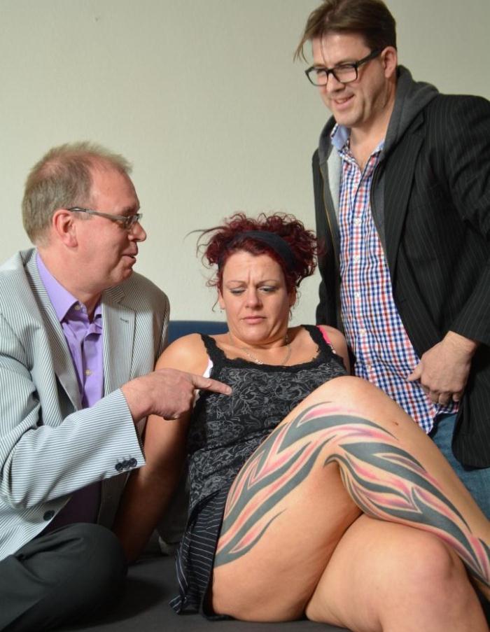 ReifeSwinger/PornDoePremium: Lea Luestern, Stefan D., Martin P., - Redheaded mature bitch Ira K likes the taste of spunky cock  [HD 720p]  (Milf)