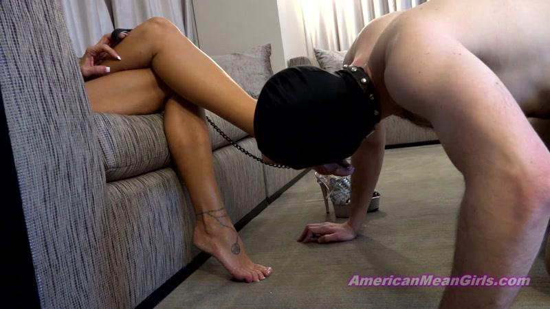 Queen Kasey - Groveling At The Queens Feet (08 JULY 2016) [AmericanMeanGirls / FullHD]