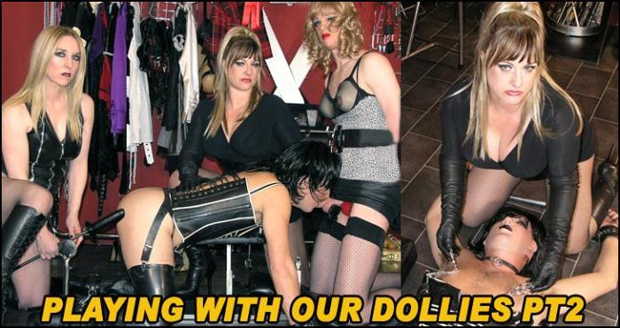 Mansion - Playing With Our Dollies Part 2 (Femdom) [HD, 720p]