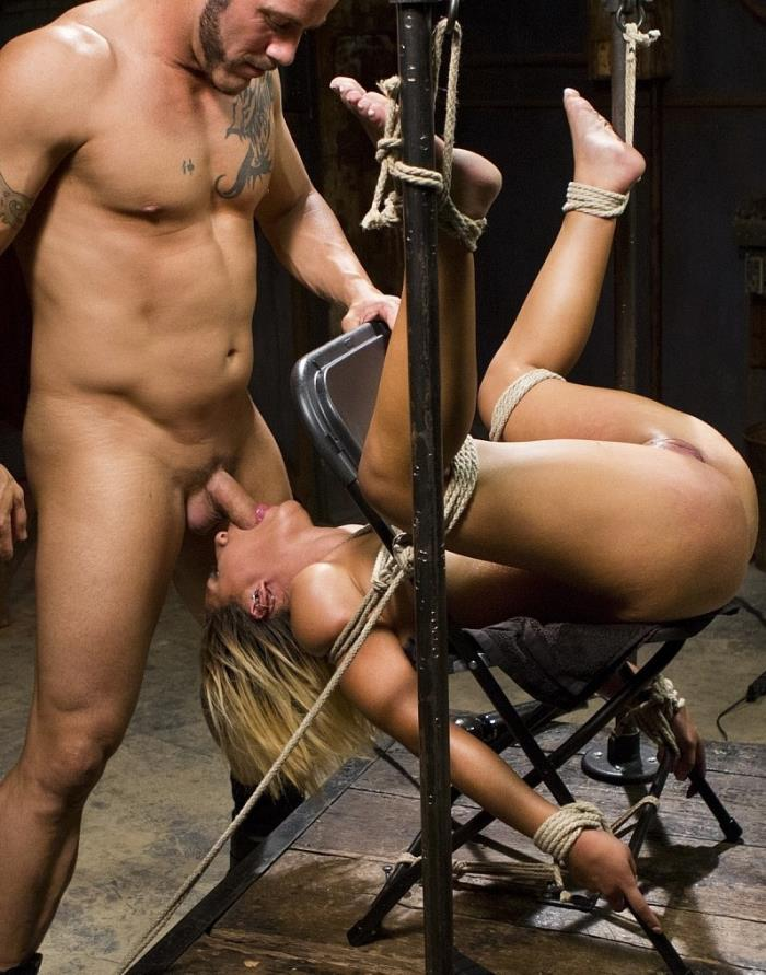 FuckedandBound: Liv Aguilera - Full Throttle Fucking and Torment  [SD 288p]  (bdsm m)