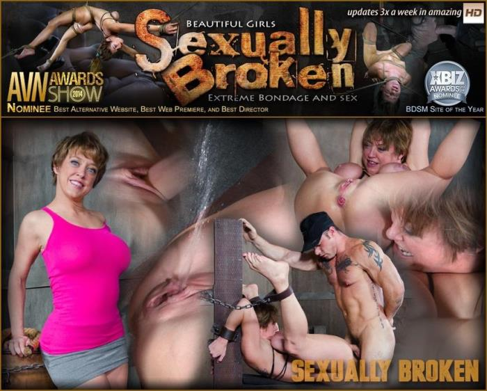 SexuallyBroken.com - Dee Williams Fucked in Strenuous Bondage and Has Multiple Squirting Orgasms! (BDSM) [HD, 720p]