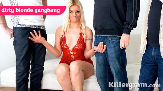 UkRealitySwingers: Jakki Louise - Dirty Blonde Gangbang (SD/2016)