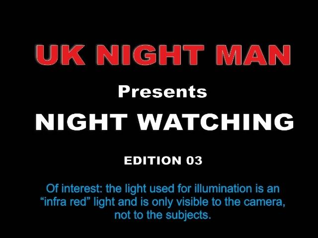 UK Night Man Night Watching 03 [Voyeurismopublicsex, UK Man / SD]