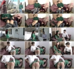 Kajira - Cooke girl correction [HD, 720p] - spanking