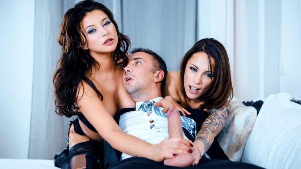 Nikita Bellucci, Anna Polina - The Pleasure Provider - Episode 4 - D1g1t4lPl4ygr0und.com (SD, 480p) [Threesome, Teen, Milf, Group sex, Hardcore, Brunette]