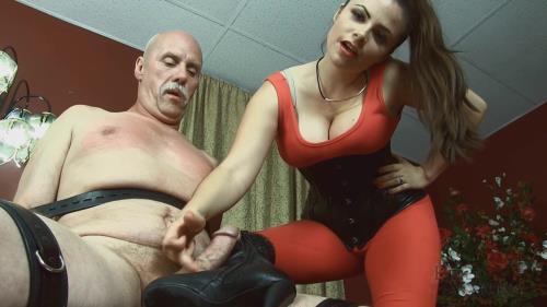 Kelle Martina - Boothumper eams his orgasm [FullHD, 1080p] [KelleMartina.com] - Femdom