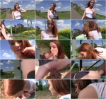 Redly (Redhead Student Fucked on a Hill / 05.08.16) [Publ1c4g3nt / SD]