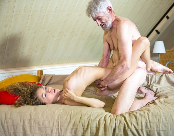 BeautyAndTheSenior.com - Rebel Lynn - Rebel Lynn And Olivier [FullHD 1080p]