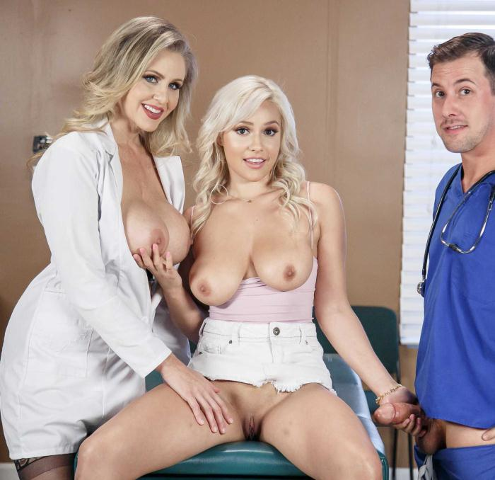 DoctorAdventures/Brazzers: Julia Ann, Kylie Page - She Wants It Both Ways  [HD 720p]  (Threesome)