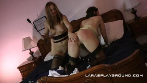 [Eva Berger, Lara Latex - Gagged, Spanked & Whipped!] FullHD, 1080p