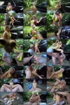 Marsha May- Backyard Carwash with Marsha May  [HD 720p] BBClips