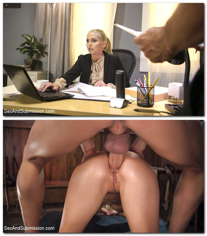 SexAndSubmission/Kink: Christie Stevens - The Anal Audit  [SD 540p]  (BDSM)
