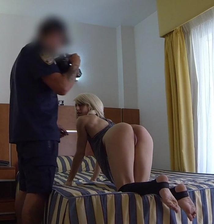 FakeCop: Nora - Blonde Exhibitionist Fucked by Cop  [HD 720p]  (Public)