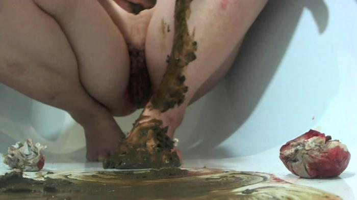 Scat - Dirty game body shit - Solo POV (Extreme) [FullHD, 1080p]