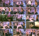 Mistresses Marina and Angel - Strapon Humiliation (ClubD0m) HD 720p