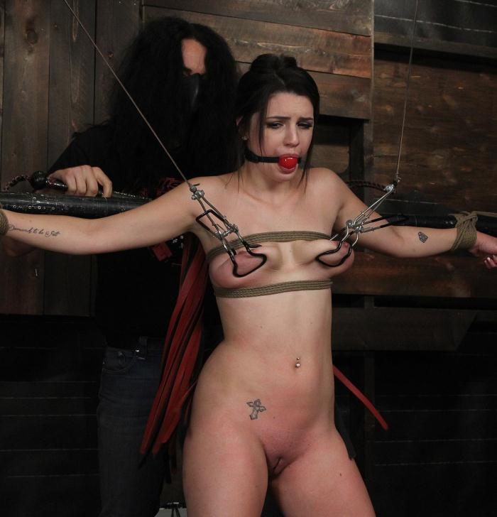 SocietySM/DungeonCorp: Kacey Quinn - Pretty Woman Wants BDSM  [FullHD 1080p]  (Bondage)