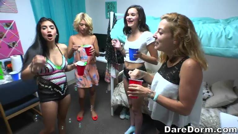 Michelle Martinez (Bubble Sexy Party with Teen Girls) [DareDorm / SD]