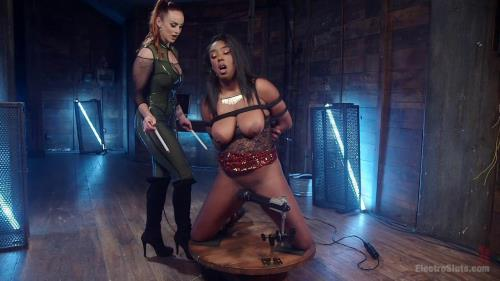 The Greedy Electroslut! [HD, 720p] [3l3ctr0Sluts.com] - BDSM