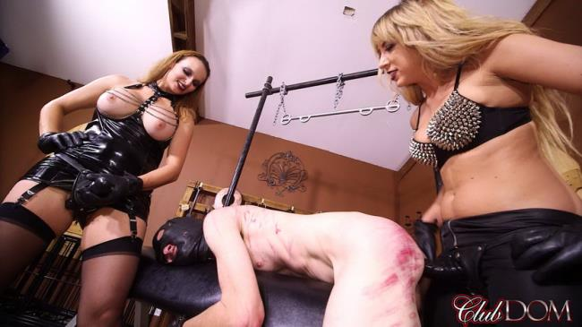 CDom: Lexi, Kelly - StrapOn Fucking Lew (HD/2016)