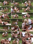 Angella Christin - Three Sexy Lesbians Pissing In Action [HD 720p] Pissing Action