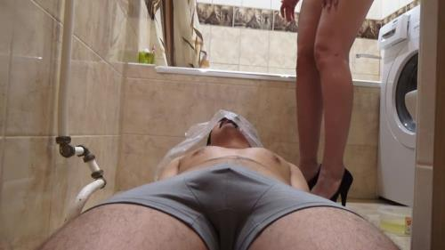My toilet slave - Femdom [FullHD, 1080p] [Scat] - Extreme