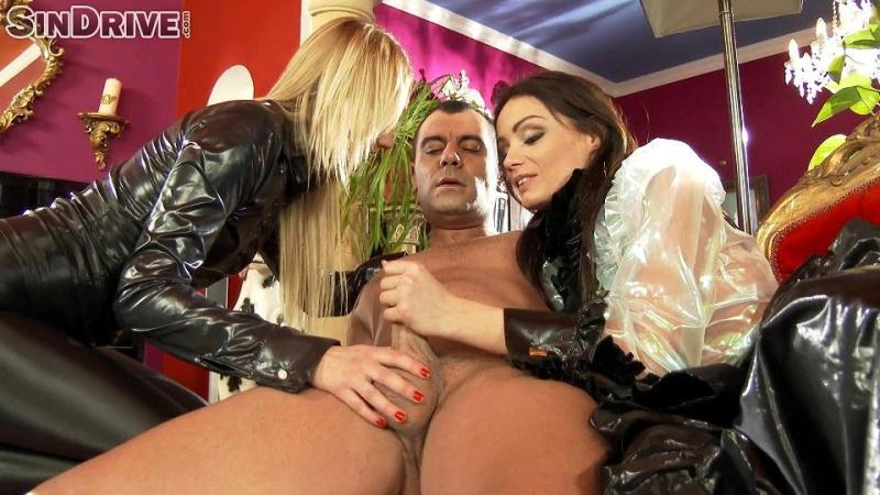 Hot Femdom Handjob with Two Crazy Mistresses [Sindrive / FullHD]