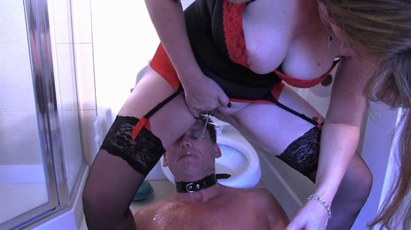 Amateur - Turned Into The Family Slave Part Six [FullHD 1080p] Piss Video