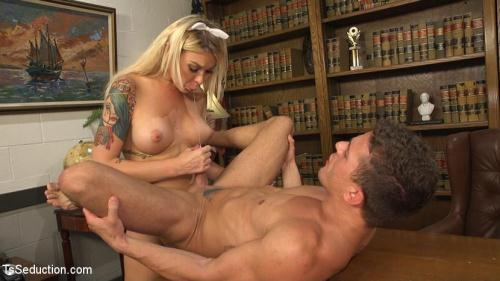 TSS3duct10n.com [Aubrey Kate, Alexander Gustavo - Blackmailed: Suck That Cock Good or I\'ll Tell My Daddy!] HD, 720p