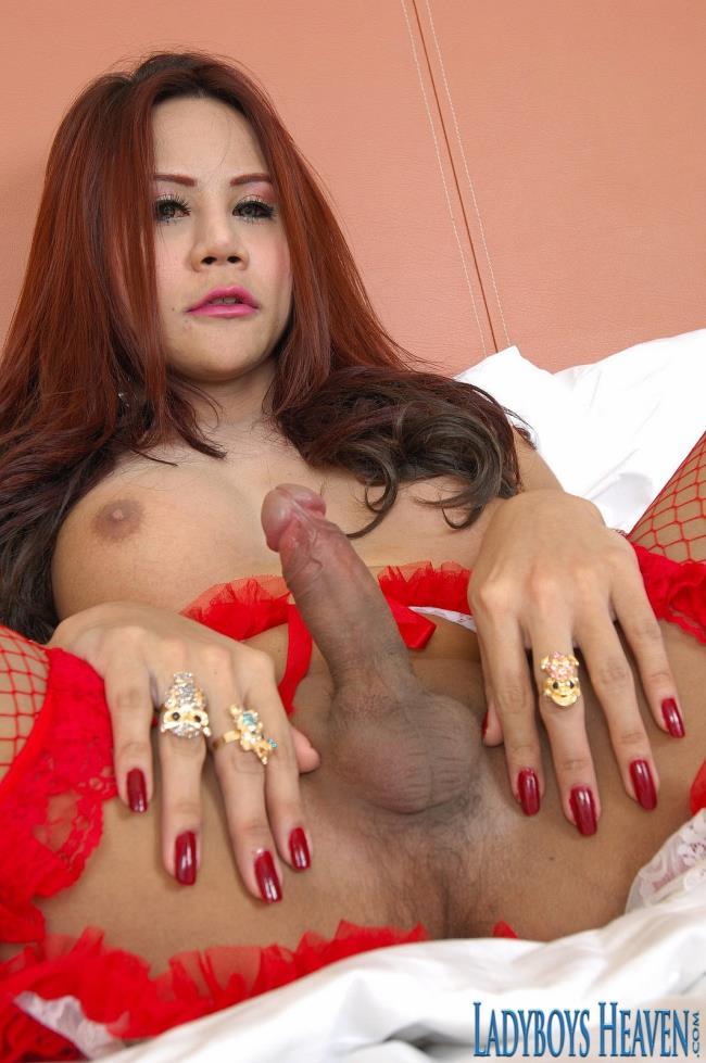 LadyboysHeaven: Nonny - Nonny Ladyboy With a Big Cock 27 Aug 2016 (FullHD/2016)