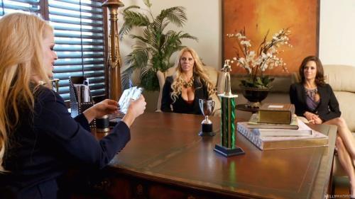 Kelly Madison, Karen Fisher, Veronica Avluv - MILF Academy (KellyMadison) [FullHD 1080p]