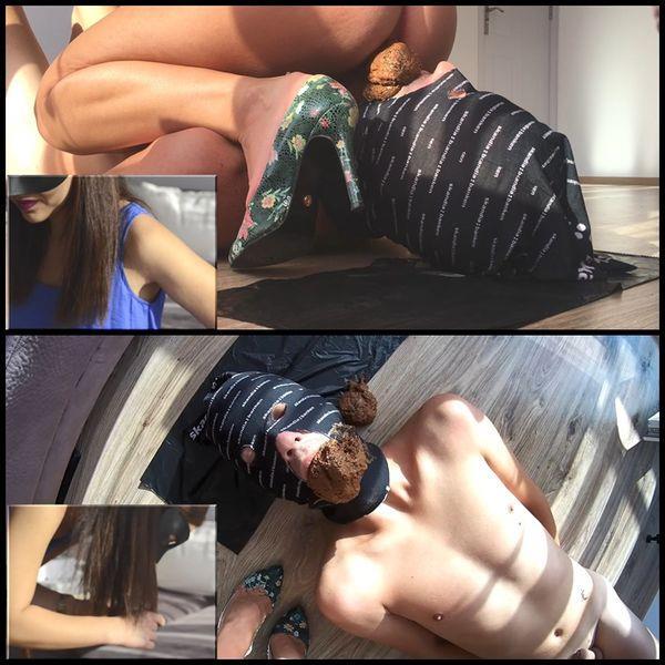 Scat Video: Amateur - NEW!!! (29.08.2016) Facesitting toilet (FullHD/2016)