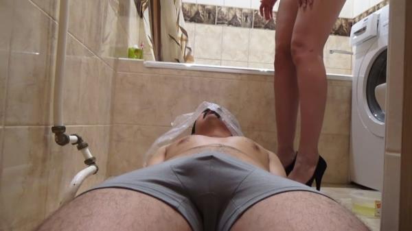 My toilet slave - Femdom (FullHD 1080p)