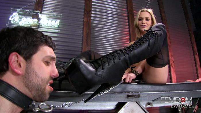 Mistress Mia - Mia's Boot Bitch (F3md0m3mp1r3) FullHD 1080p