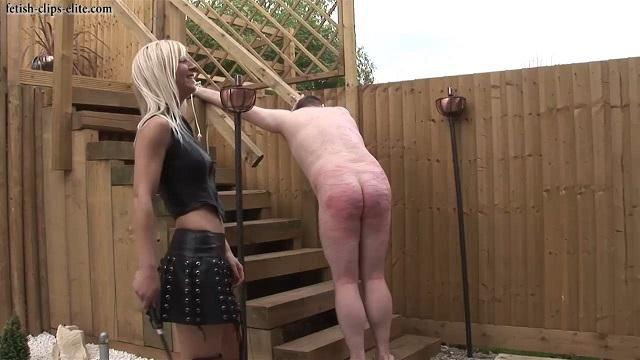 Hard Spanking her Slave [Fetish-clips-elite / HD]